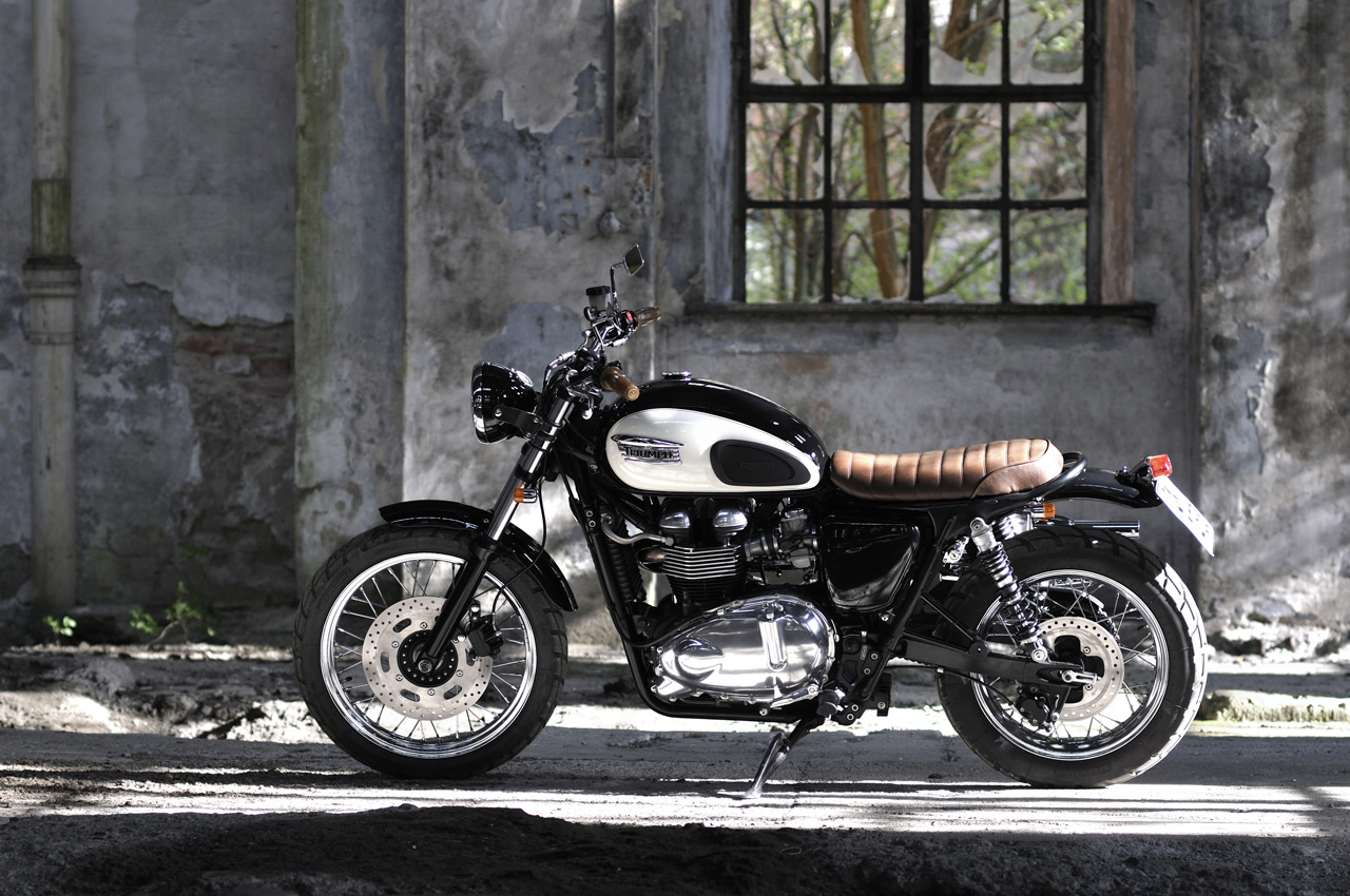 triumph scrambler umbau. Black Bedroom Furniture Sets. Home Design Ideas