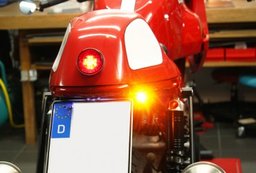 Ducati Paul Smart 1000s Sport Motogadget LED Blinker / Flasher m-Blaze Pin