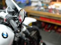 BMW urban GS Scrambler Racer ninet Motogadget Lenkerendenspiegel 013