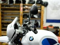 BMW urban GS Scrambler Racer ninet Motogadget Lenkerendenspiegel 08