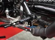 Ducati Sport 1000 1000s Rear Set Fussrasten Anlage 044