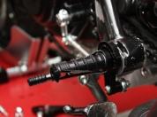 Ducati Sport 1000 1000s Rear Set Fussrasten Anlage 045