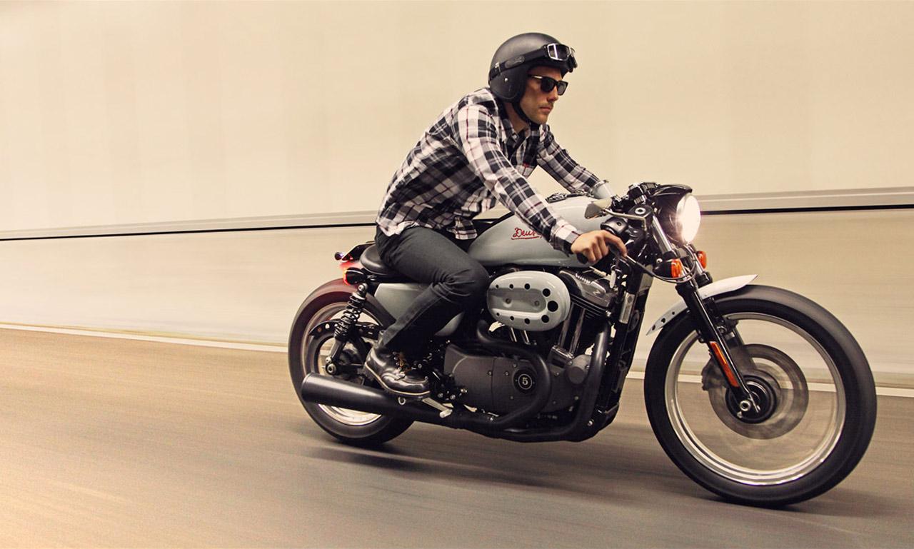 Bobber Cafe Racer Harley Davidson Hd Wallpaper 1080p: Harley Davidson Sportster Cafe Racer & Flattracker