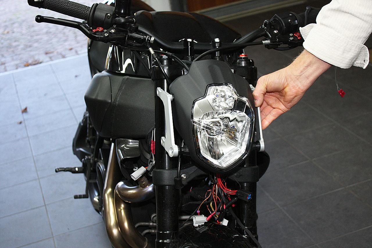 Ducati Streetfighter Headlight Bracket