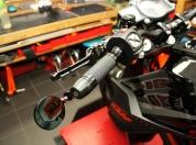 Rizoma Griffe Sport Line Spy R Lenkerendenspiegel KTM 1290 SD020