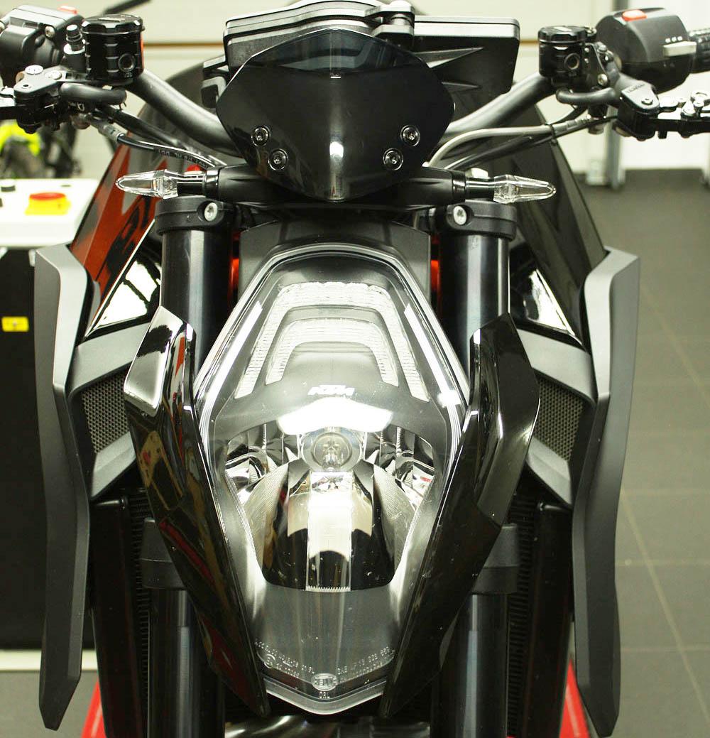KTM Superduke verkleidungsscheibe windscreen 50