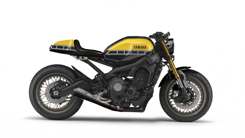 nice yardbuilt yamaha xsr 900 abs cafe racer project bmw ducati ktm. Black Bedroom Furniture Sets. Home Design Ideas
