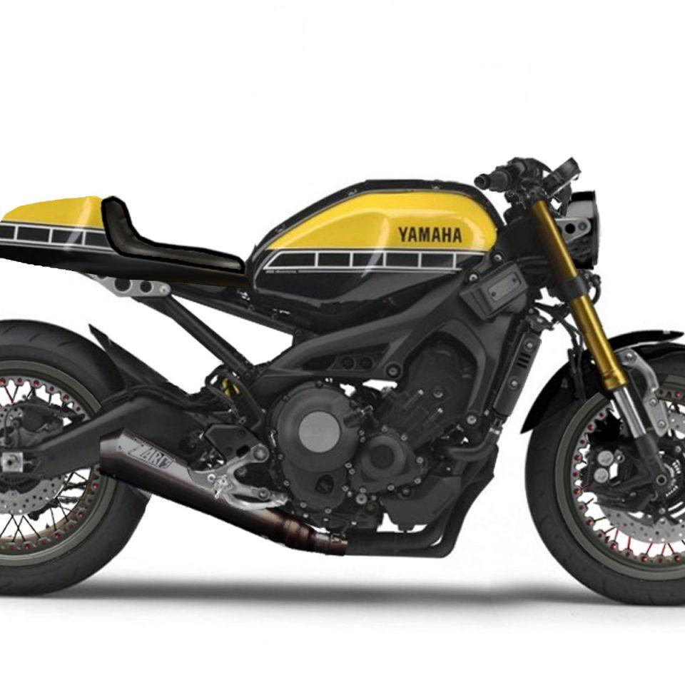 XSR 900 ABS Cafe Racer Umbau