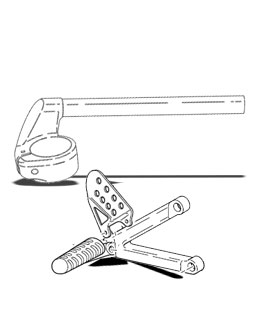 Footrest & Handlebar